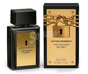 Antonio Banderas Colonia Hombre The Golden Secret 50 Mililitros
