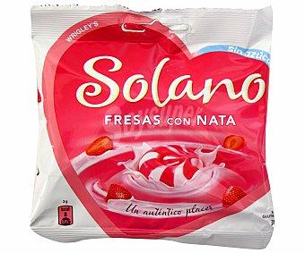 Solano Caramelos sin azúcar sabor a fresa con nata Bolsa de 90 g