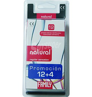 Family Preservativo natural Blister 16 uds