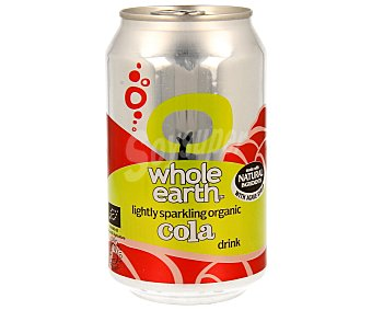 WHOLE EARTH Refresco de cola biológico Lata de 33 ml