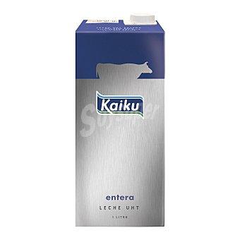 Kaiku Leche Entera Brik 1 litro