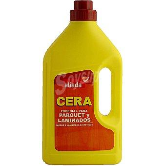 Aliada Cera especial para suelos de parquet y laminados Botella 1 l