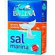 Sal gruesa yodada LA ballena, caja 1 kg Caja 1 kg La Ballena