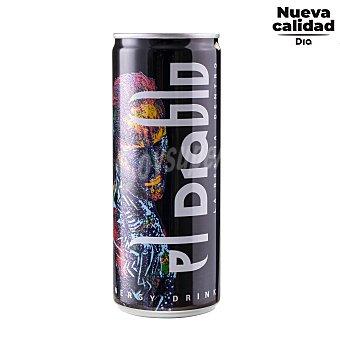 DIA Bebida energética EL diablo Lata 25 cl