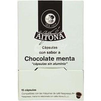 Aitona Café sabor a chocolate-menta Caja 15 c