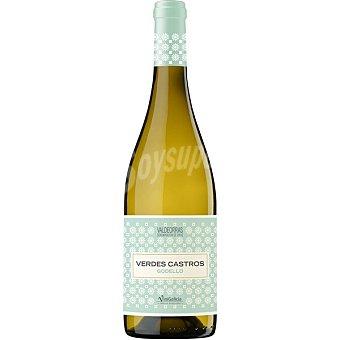 Verdes Castros Vino blanco godello DO Valdeorras Botella 75 cl
