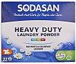 Detergente en polvo ecológico 22 ds  Sodasan