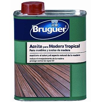 BRUGUER Aceite para madera tropical de muebles y suelos de madera 750 ml 750 ml