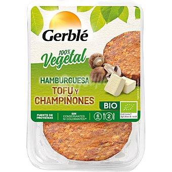 Cereal Bio Hamburguesa vegetal de tofu y champiñones ecológica Pack 2 ud x 75 gr