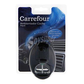 Carrefour Ambientador para el coche Acqua Aparato + recambio de 8 ml.
