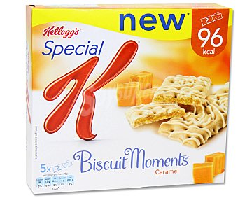 Special K Kellogg's Biscuit Moments de caramelo Pack 5x25 g