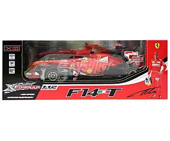 XQ Coche de Radiocontrol Ferrari F14T , Edición Fernando Alonso a Escala 1:12 1 Unidad