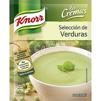 Knorr Crema selección de verduras Sobre 75 g