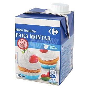 Carrefour Nata para montar líquida 500 ml