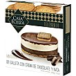 Mini tarta de galleta con crema de chocolate y nata caja 100 g Casa Eceiza