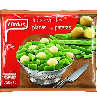 Findus Judias verdes planas con patatas 750 g