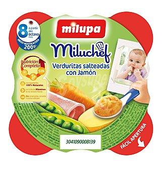 Milupa Miluchef Tarrito Verduras con Jamón 200g