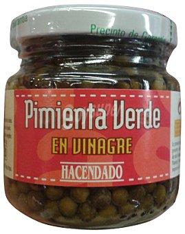 Hacendado Pimienta verde en vinagre Tarro 135 g