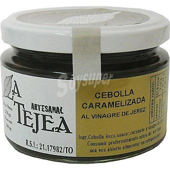 La Tejea Cebolla caramelizada al vinagre de Jerez Frasco 270 g