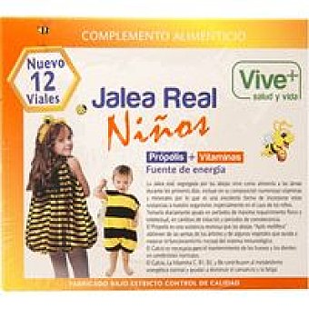 Vive+ Jalea Real Niños 10 u