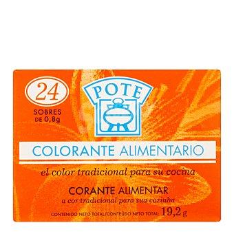 Pote Colorante alimentario 24ud (19,2gr)