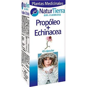 NaturTierra Propóleo más echinácea ápsulas envase 180 g 45 c