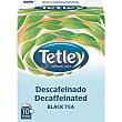 té negro descafeinado 10 bolsitas Estuche 15 g Tetley