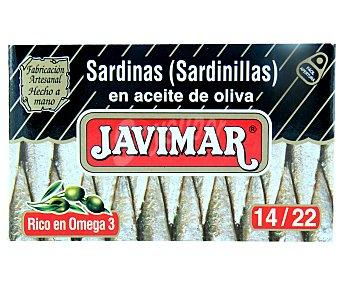 Javimar Sardinilla en aceite de oliva 14/22 88 g