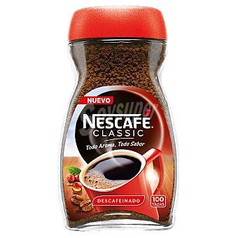 Nescafé Café soluble descafeinado classic Bote de 200 g