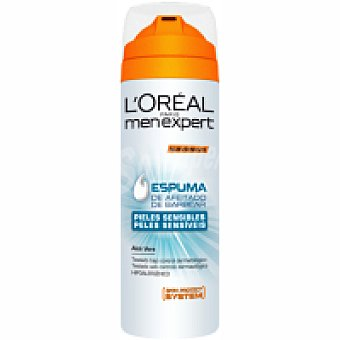 Men Expert L'Oréal Paris Espuma de afeitar Sensitive Spray 200 ml
