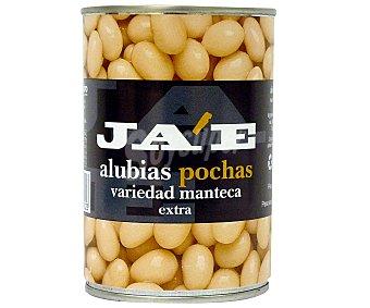 JA'E Alubia Cocida Blanca Pocha Lata de 390 Gramos