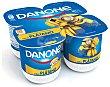 Yogur Sabor Plátano Pack 4 x 125 g Danone