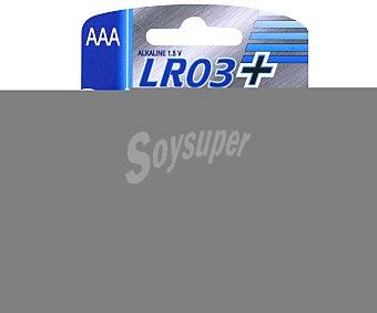Auchan Pilas alcalinas LR03 Power 4 unidades