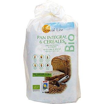 SPECIAL LINE pan integral 6 cereales alto contenido en fibra  envase 500 g