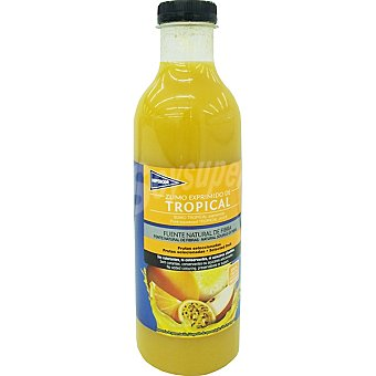 Hipercor Zumo exprimido con tropical botella 750 ml Botella 750 ml