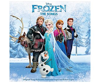 Disney Frozen The Songs BSO 1 unidad