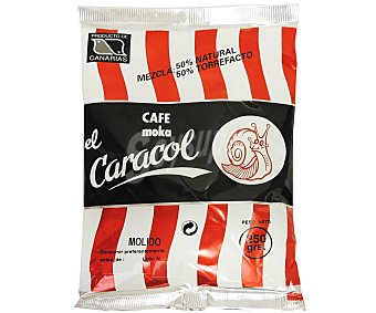 El Caracol Café molido mezcla Bolsa 250 g