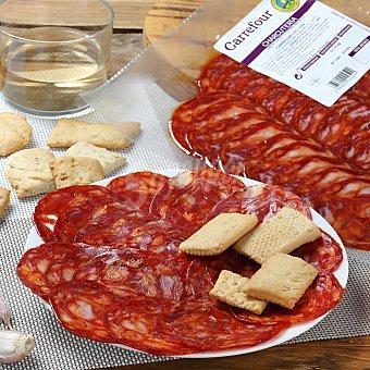 Calidad y Origen Carrefour Chorizo ibérico de cebo 50% raza ibérica loncheado Carrefour Calidad y Origen 100 G 115 g