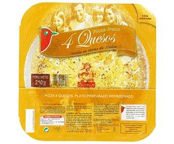 Auchan Pizza Mini 4 Quesos 210g