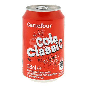 Carrefour Refresco de cola clásico 33 cl