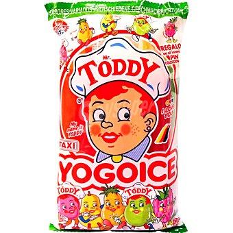 Mr toddy Golosina para congelar sabores surtidos Bolsa 450 ml