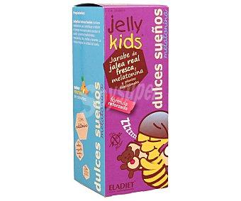 Jelly kids Jarabe de jalea real con sabor a frutas que ayuda a conciliar el sueño 250 ml