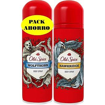 OLD SPICE Desodorante Wolfthorn + desodorante Hawkridge spray 150 ml Spray 150 ml
