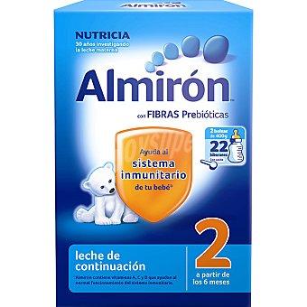 ALMIRON 2 Continuación Leche en polvo desde 6 meses 2x400g envase 800 g 2x400g