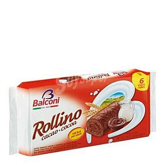 Balconi Rollinos de Cacao 6 Unidades de 37 Gramos