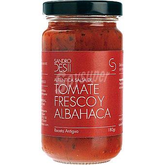 Sandro Desii Salsa de tomate fresco y albahaca Frasco 180 g