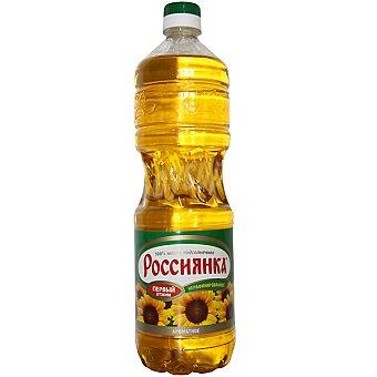 ROSSIYANKA Aceite de girasol ruso Botella 1 l