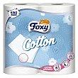 Papel higiénico Cotton 5 capas 4 rollos Foxy