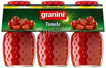 Granini Zumo de tomate Pack 3 botellas 20 cl