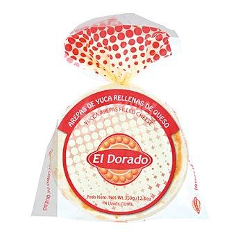 El Dorado Arepa de yuca rellena de queso 4 ud